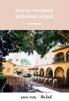 This villa style venue has a beautiful outdoor courtyard lined with dreamy string lights.