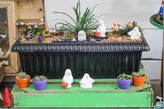 Amazing Fairy Garden Ideas: Halloween themed