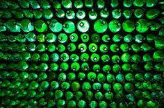 Resultado de imagen para bottles in earthen walls