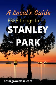 Stanley Park is a 1000 acres park in downtown Vancouver. As a local, I have been countless times and I have discovered many amazing free or inexpensive activities to enjoy. Vancouver Beach, Stanley Park Vancouver, Downtown Vancouver, Free Travel, Budget Travel, Travel Ideas, Travel Tips, Vancouver Photography, Travel Photography