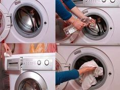 To efficiently clean your laundry room (in just a few hours, or over the course of a few days). Clean Out, Diy Cleaners, Kitchen Equipment, Diy Cleaning Products, Deep Cleaning, Decoration, Laundry Room, Helpful Hints, Handy Tips