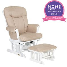 Shermag Glider Rocker And Ottoman White Pearl Fabric Glider Rocker With Ottoman Glider Rocker Glider And Ottoman