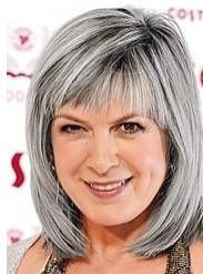 Image result for silver gray hair styles