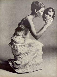 Mia Farrow Richard Avedon Vogue 1966