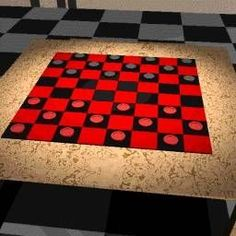I think just about everyone knows the basics of checkers.