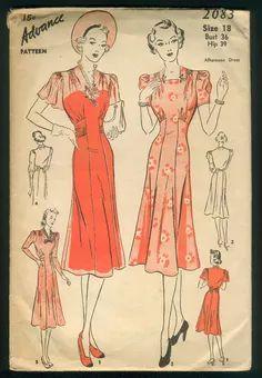 Advance 2083 - Vintage Sewing Patterns