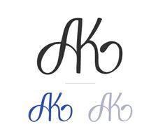 Papellerie Logos by Mary-Ann Zykin, via Behance Wedding Prints, Wedding Logos, Monogram Wedding, Monogram Logo, White Feather Tattoos, Ak Logo, Flower Iphone Wallpaper, Handwriting Styles, Love Husband Quotes