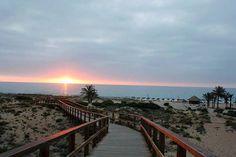Amanecer desde la Playa del Carabassi