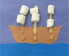 Pirate Ship Craft 5/21 & 22/13
