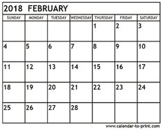 free printable calendar february 2018 march calendar printable january calendar 2018 monthly calendars