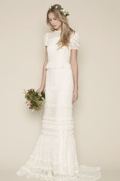 Rue De Seine Louvre wedding dress - Read more on One Fab Day: http://onefabday.com/rue-de-seine/
