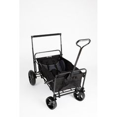 Wagon Stroller The most portable, maneuverable, comfortable wagon we've found! This folding wagon incorporates smart stroller features for added safety and Folding Wagon, Kids Wagon, Baby Gear, Baby Strollers, New Baby Products, Cart, Black, Walmart, Castiel