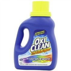 Oxiclean stain fighter liquid bleach review {on Stain Removal 101}