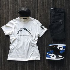 WEBSTA @ ldn2hk - Black and Blue. #outfitgrid @outfitgrid @dennistodisco // Cap…
