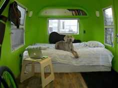 At Home: Living in an Icon- Airstream makeover