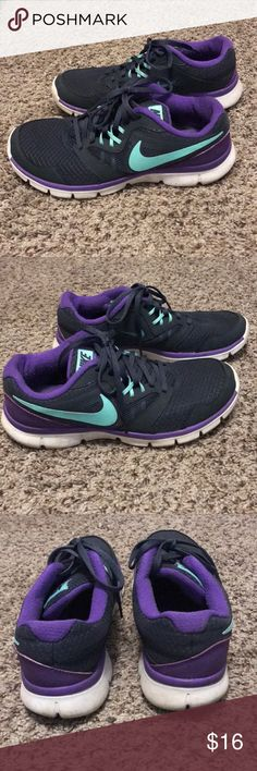 Nike flex experience 3 Worn for about two weeks total! These still have plenty of life left in them. Nike Shoes Athletic Shoes
