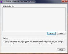 Free Software to Password Protect Folders
