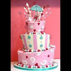 #babyshowercakes #bakery #customcakes #fondant #SweetMemoriesBakery #NCBakery sweetmemoriesbakery.com