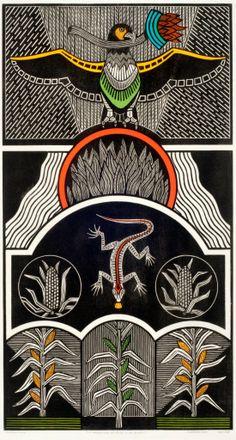 Xilogravura de Gilvan Samico, Pernambuco Arte Popular, Popular Art, Art And Illustration, Art Conceptual, Woodcut Art, La Madone, Naive Art, Mural Art, Gravure