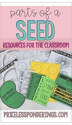 Spring is in the air when topics in science include parts of a seed, flowers and pollination. This blog post includes great tips and ideas to teach your class about parts of a seed, germination and pollination. Students will learn concepts through hands on students center resources!