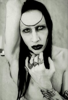 Marilyn Manson by Stefan de Batselie - Antichrist Superstar era