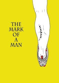 The mark of a man #cyclist