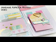 SNAIL MAIL FLIP BOOK PROCESS VIDEO - YouTube - The Paper Treasury