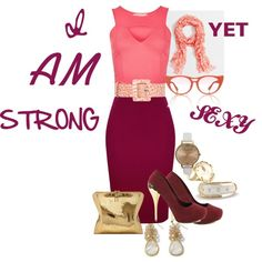 """STRONG, YET...."" by tianacos on Polyvore"