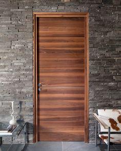 Urban Front - Contemporary front doors UK   RUST: Feature interior door modern horizontal & ARMSTRONG - Teak door with raised panels horizontal and vertical ... Pezcame.Com