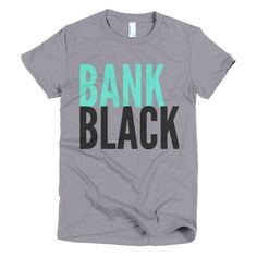 Bank Black Short sleeve t-shirt