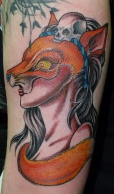 Foxy Lady.  Done by Soap from Lab Monkey Tattoo Studio in Stirling :)