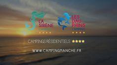 Campings résidentiels à Montmartin-sur-Mer. Film promotionnel réalisé par Convergence Media, agence de communication digitale.  www.campingmanche.fr : un site web réalisé par Convergence Media.