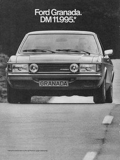 Ford Granada Werbung / advertisement by Bernd Tuchen, via Flickr
