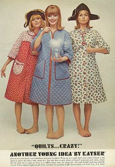 Hey what up? Surely I'm not the only person here who loves quilted housecoats? Amirite?