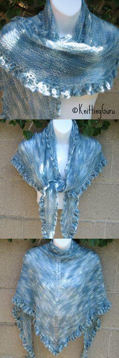 Blue Skies Knit Shawl is included in this Etsy treasury: https://www.etsy.com/treasury/NjU0OTAzOXwyNzI0MDcxMjU1/winter-is-coming