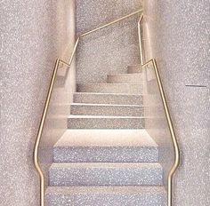 terrazzo stairway More Architecture Details, Interior Architecture, Interior And Exterior, Interior Design, Interior Photo, Interior Staircase, Staircase Design, Modern Staircase, Belle Photo Instagram
