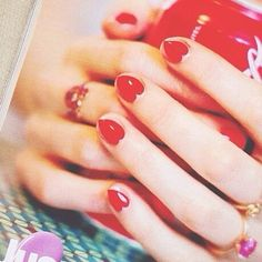 Instagram @ashleesarajones follow! Valentines Day Nails #valentinesday #nails #fashion #style #color #nailedit #love