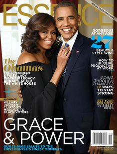 So FLOTUS and POTUS Are Just Gonna Steal My Heart on the Cover of ESSENCE…