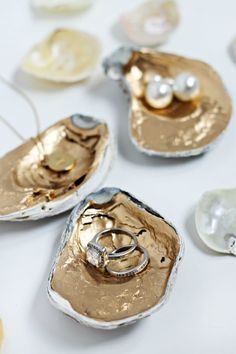 DIY Projects to Organize Your Home in Style | eHow ransform shells into mini-organizers using just a bit of gilding paint. Use them to store jewelry, office supplies or even in lieu of salt and pepper shakers. No matter where you choose to use them, they're sure to add a bit of orderly beauty to your space. Read more : http://www.ehow.com/how_12340729_diy-projects-organize-home-style.html