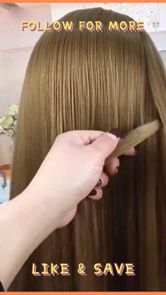 Spring Hairstyles, Cute Hairstyles, Braided Hairstyles, Diy Gift For Bff, Braid Styles, Shoulder Length, Braids, Hair Cuts, Hair Color