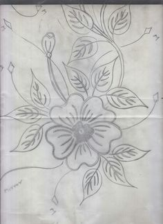 Embroidery Designs, Hand Embroidery Stitches, Beaded Embroidery, Pattern Drawing, Pattern Art, Needlepoint Stitches, Mandala Coloring, Beading Projects, Embroidered Flowers
