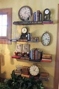 """book"" shelves cool idea for the library :-)"