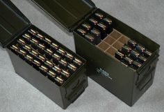 Pistol Mag storage..why God made ammo cans.....