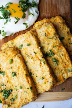 These Cauliflower Hash Browns are the perfect accompaniment to a keto breakfast. Bursting with cheese and crisped to a perfect golden brown, these are sure to
