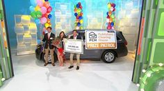 Todd, Danielle, and Howie on the Price is Right...Are you in it  too win it?