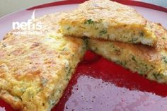 Börek Tadında Omlet Tarifi – Nefis Yemek Tarifleri – Vegan yemek tarifleri – Las recetas más prácticas y fáciles Easy Brunch Recipes, Vegetarian Breakfast Recipes, Healthy Brunch, Breakfast Menu, Special Recipes, Best Breakfast, Healthy Summer, Crepes, Turkish Recipes