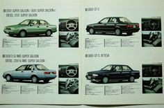 Magazine Nissan Sentra, Nissan Sunny, Retro Cars, Diesel, Japan, Magazine, Vehicles, Templates, Motors