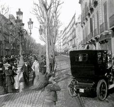 Primer cotxe matriculat a Barcelona