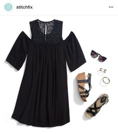 Stitch Fix Request: Stylist - please send me this Pixley Dobrie Cold Shoulder Lace Detail Dress in my next fix!! Love the color, the lace detail and the cold shoulder look.