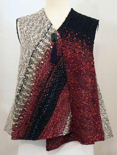 Handwoven Clothing, Vest, Kathleen Weir-West, 19-001.JPG